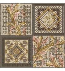 Тапет влагоустойчив Версаче кафяв