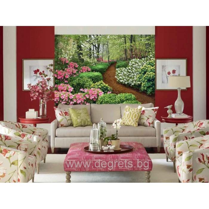 Фототапет Пролетна градина