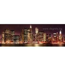 Фототапет с пейзаж Светлините на града