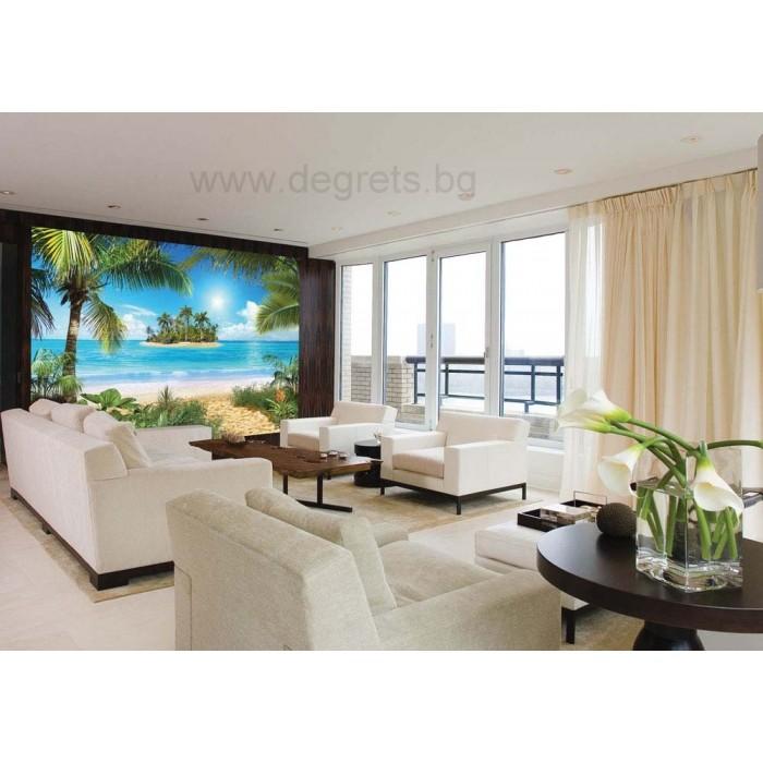 Фототапет Тропически плаж