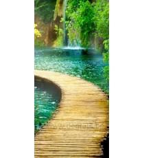 Фототапет Път до водопада