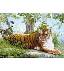Фототапет Тигър в джунглата