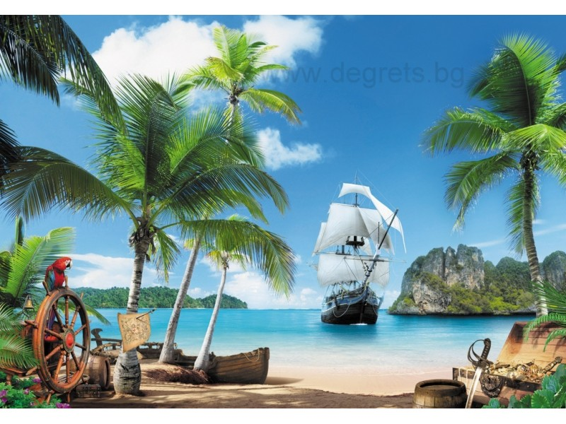 Фототапет Пиратски остров