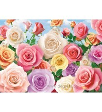 Фототапет Пъстри рози