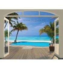 Фототапет Премиум Райски плаж
