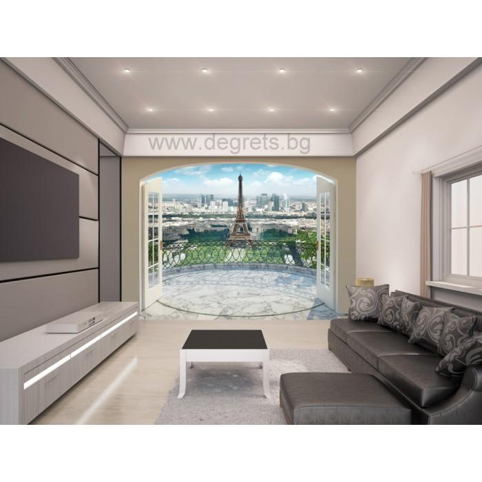 Фототапет Премиум Айфеловата кула