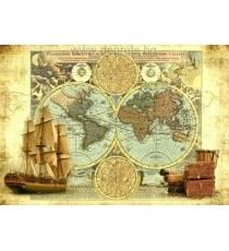 Фототапет Карта на пътешественика