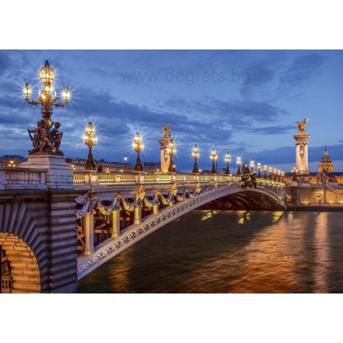 Фототапет Мост Александър III Париж
