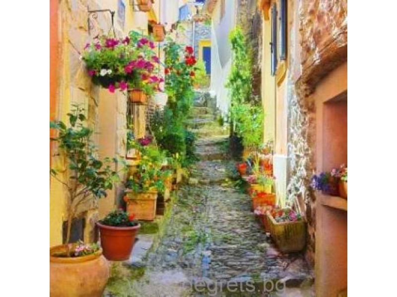 Фототапет Слънчеви улици