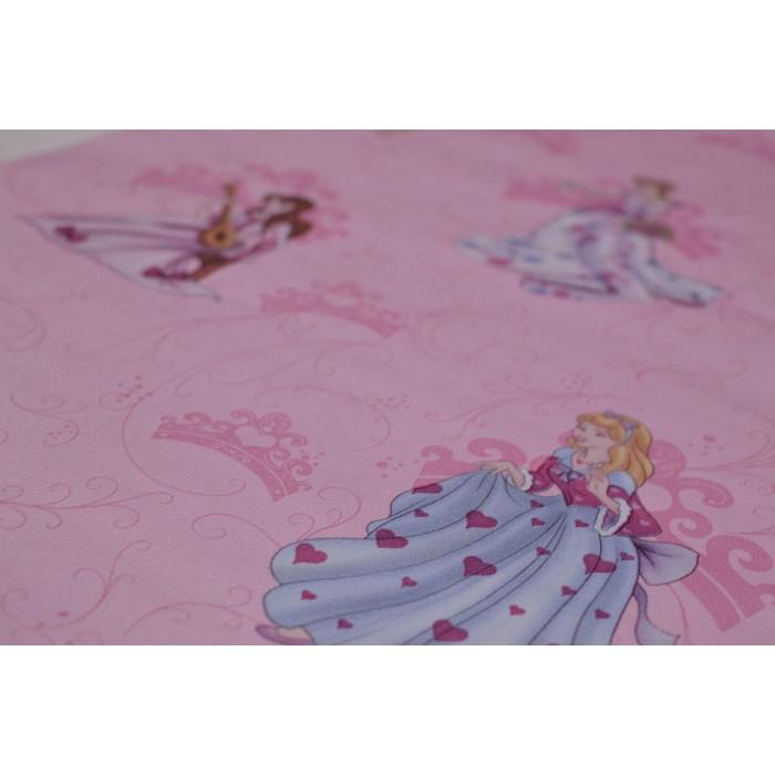 Тапет хартиен Принцеси розов