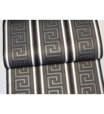 Тапет хaртиен Версаче черен-сребро