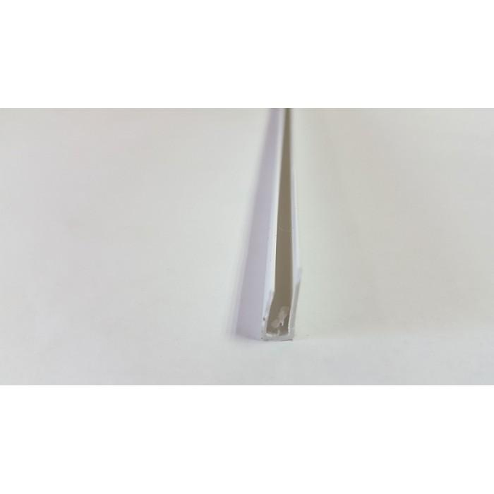 PVC профил стартов бял 1 бр 2.5 метра 3 мм.
