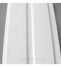 PVC ламперия Бял мат - 6.375 кв.м.