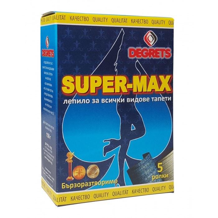 Лепило за тапети Супер Макс 150 гр.