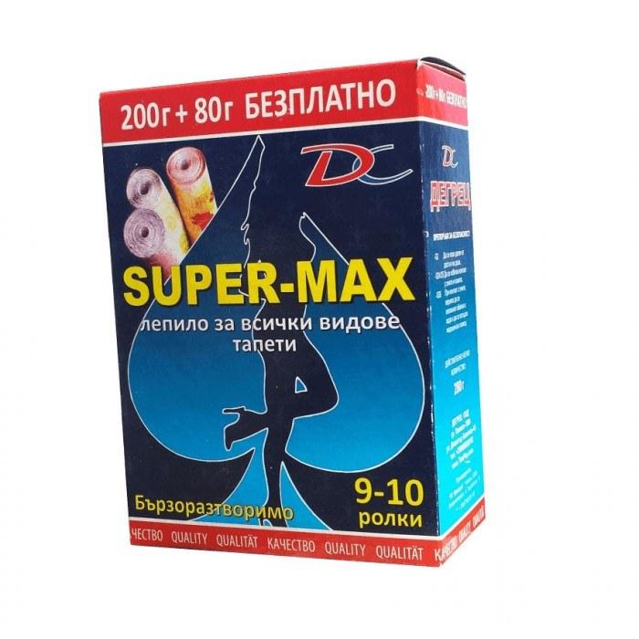 Лепило за тапети Супер Макс 280 гр.