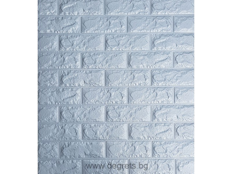 Самозалепващ 3D тапет сив