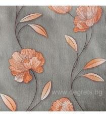 Тапет хартиен  Мира чер-оранж