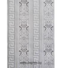 Тапет хартиен Версаче 3D сив-сребро